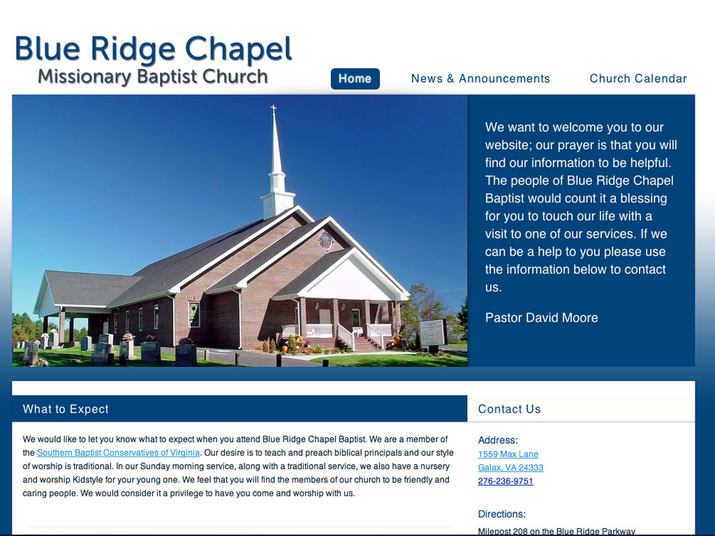 Blue Ridge Chapel