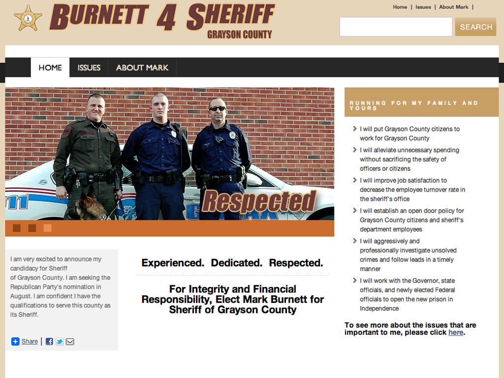 Burnett 4 Sheriff