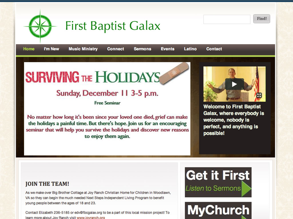 First Baptist -2012