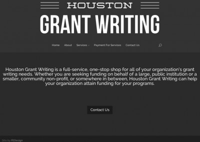 Houston Grant Writing
