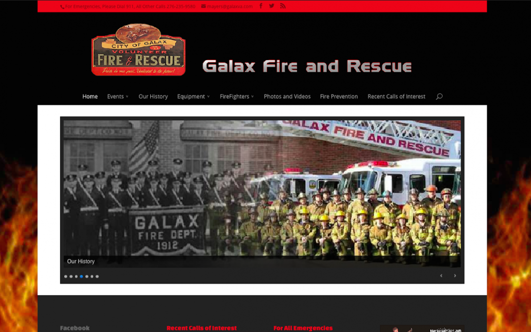 Galax Fire Department – 2015