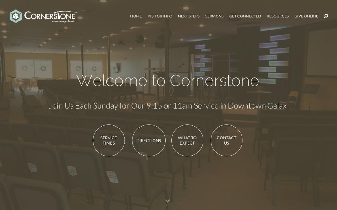 Cornerstone Community Church – 2015