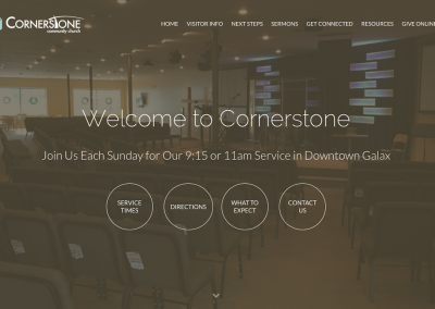 Cornerstone Community Church – 2015
